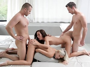 Gina licking cum stay away from Didos bootie