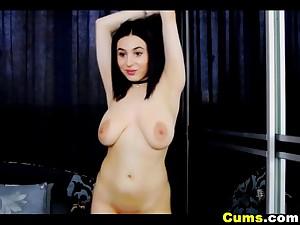 Big Tits Babe Teasing On Cam