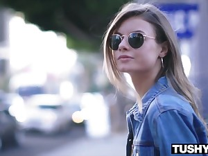 TUSHYRAW Hipster Chick Needs Anal Sex Sensual Lukewarm - petite Anal