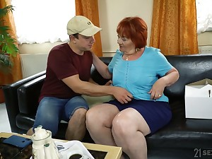 Chubby mature ugly whore Marsha as a matter of fact loves some mish dear one