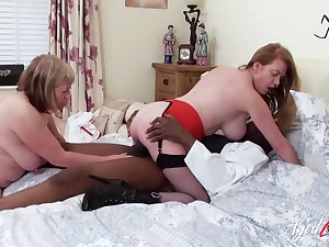 Big titty old bitches ride his black cock