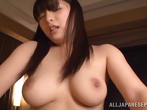 Ran Asaka gets her pussy pounded in many poses wits her friend