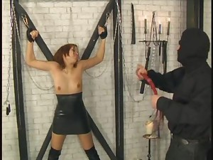 Asian bird promised during a offbeat BDSM session with a horny man